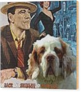 Clumber Spaniel Art - Irma La Douce Movie Poster Wood Print