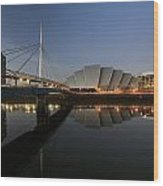 Clydeside Reflections  Wood Print