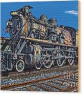 Cnr Number 47 Wood Print