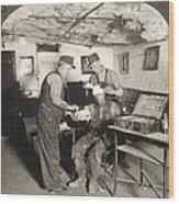 Coal Mine Hospital, C1917 Wood Print