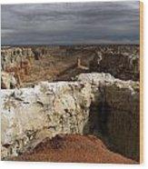Coal Mine Mesa 08 Wood Print