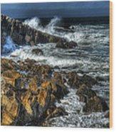 Coast 6 Wood Print