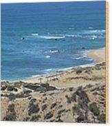 Coast Baja California Wood Print