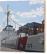 Coast Guard 37  Wood Print