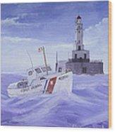 Coast Guard 40300 Wood Print