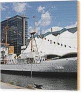 Coast Guard 37 - Baltimore Harbor Wood Print