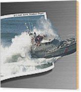 Coast Guard Wood Print
