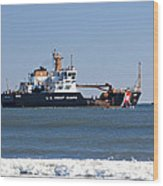 Coast Guard Cutter Wood Print