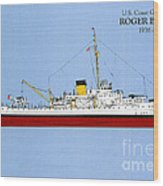 Coast Guard Cutter Taney Wood Print