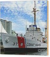 Coast Guard Cutter Taney Wood Print