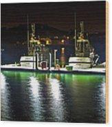 Coast Guard Fort Baker Wood Print