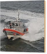 Coast Guard In Action Wood Print
