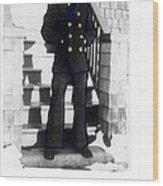 Coast Guard Sailor 1942 Wood Print