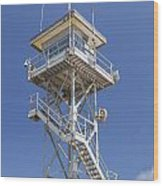 Coast Guard Tower Wood Print