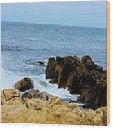 Coast Of California # 19 Wood Print