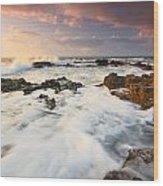 coast of Crete 'II Wood Print