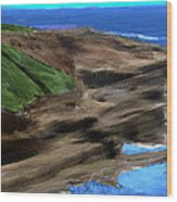 Coast Of Ireland Wood Print