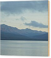 Coast Ranges In Alaska Wood Print