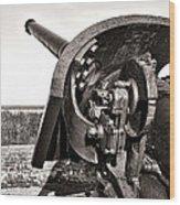 Coastal Artillery Wood Print