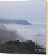 Coastal Atmosphere Wood Print