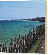Coastal City Of St Malo France Wood Print