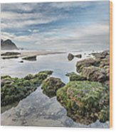 Coastal Colors Wood Print by Jon Glaser