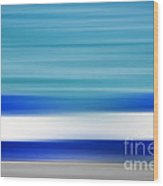 Coastal Horizon 2 Wood Print