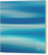 Coastal Horizon 7 Wood Print