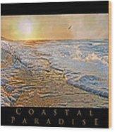 Coastal Paradise Wood Print