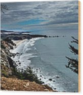 Coastal Retreat Wood Print