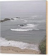 Coastal Scene 2 Wood Print