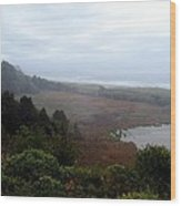 Coastal Seascape Wood Print