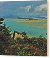 Coastal Storm Wood Print