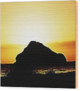 Coastal Sunset IIl Wood Print