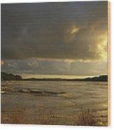 Coastal Winters Afternoon Wood Print