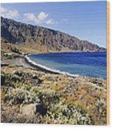 Coastline Of Hierro Island Wood Print