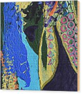 Coat Of Many Colors Wood Print