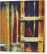 Cobbled Together Wood Print
