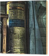 Cobblers Fire Extinguisher Wood Print