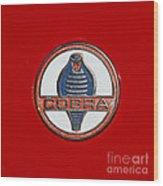 Cobra Emblem Wood Print