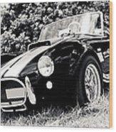 Cobra Sports Car Wood Print by Phil 'motography' Clark