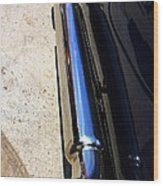 Car Tail Pipe Wood Print
