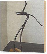 Cobra Woman Wood Print by Vele Bezzo
