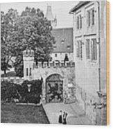 Coburg Castle Germany 1903 Wood Print