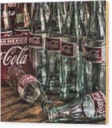 Coca Cola - Hecho En Mexico Wood Print