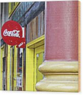 Coca Cola In St. Louis Wood Print