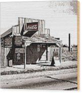 Coca-cola Shack   Alabama Walker Evans Photo Farm Security Administration December 1935-2014 Wood Print