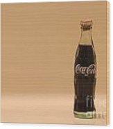Coca-cola Wood Print