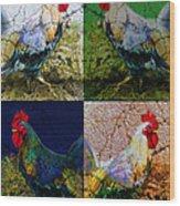 Cock 2 Wood Print