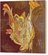 Cockerel 0450 Marucii Wood Print